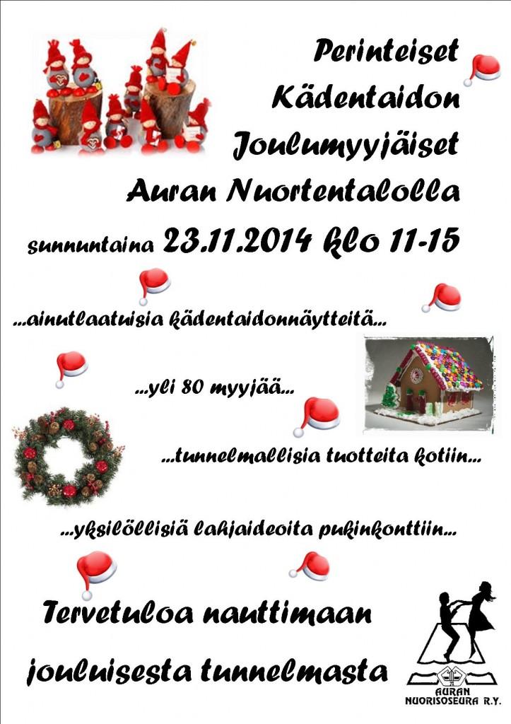 NSjoulumyyjäiset2014